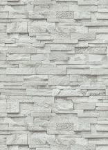 Erismann MIX Collection/Bestseller 02363-30  Natur palatégla kövek 3D fehér szürke árnyalatok tapéta