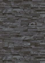 Erismann MIX Collection/Bestseller 02363-40  Natur palatégla kövek 3D szürke antracit fekete tapéta