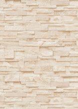 Erismann MIX Collection/Bestseller 02363-50  Natur palatégla kövek 3D bézs barna homokkő tapéta