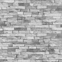 Erismann MIX Collection/Bestseller 05546-20 Natur kőmintázat szürkésfehér szürke árnyalatok tapéta