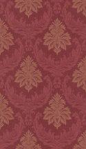 Rasch Textil Da Capo 085517  barokk díszítőminta textil kárminpiros tapéta