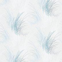 Erismann MIX Collection/Bestseller 10020-08 Natur Fű/hínár minta fehér kék árnyalatok ezüstszürke tapéta