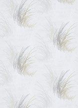 Erismann MIX Collection/Bestseller 10020-10 Natur Fű/hínár minta fehér szürke arany tapéta