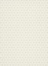 Erismann Bali 10025-01 Geometrikus modern grafikus minta krémfehér bézs szürke gyöngyházfényű csillogás