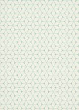 Erismann Bali 10025-18 Geometrikus modern grafikus minta krémfehér szürke türkiz fémes hatás
