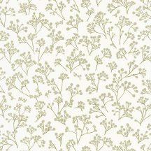 Caselio Sunny Day 100257005  POPPY Natur bimbózó pipacsok fehér halvány zöld tapéta