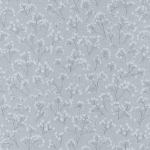 Sunny Day 100259003  POPPY Natur bimbózó pipacsok füstszürke szürke szürkésfehér tapéta