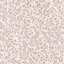 Caselio Sunny Day 100274004  LUCY Natur ágak levelek krémfehér sötét rózsaszín tapéta