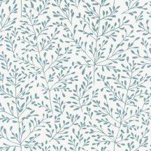 Caselio Sunny Day 100276066  LUCY Natur ágak levelek fehér kékeszöld tapéta