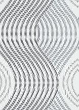 Erismann Fashion for Walls 10045-10 Grafikus nagyformátumú hullámminta fehér szürke fekete ezüst csillogó hatás tapéta