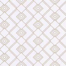 Scarlett 100471002 GATSBY Geometrikus díszítőminta halvány rózsaszín csillogó arany tapéta