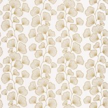 Scarlett 100481026 GINGKO Natur stilizált gingko levelek világos rózsaszín csillogó arany tapéta
