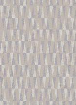 """Erismann Carat 10061-02 Geometrikus """"hegyes"""" háromszögek szürkésbarna bézs szürke fénylő mintafelület tapéta"""