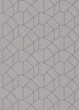 Erismann Carat 10062-30 Grafikus design bézs/szürkésbézs kék fénylő mintafelület tapéta