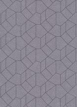 Erismann Carat 10062-37 Grafikus design szürkésbarna antracit csillámló mintafelület tapéta
