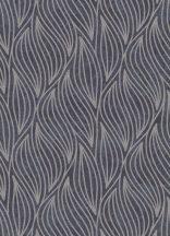 """Erismann Carat 10063-37 Grafikus strukturált hullám """"lángnyelv"""" minta antracit szürkésbarna csillámló mintafelület tapéta"""