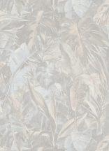 Erismann Instawalls 2, 10081-14  Natur dzsungel trópusi levelek krém szürka halvány korall tapéta
