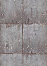 Erismann Instawalls 2, 10084-10 Ipari design fal betonlapokból szürke ezüst barna tapéta