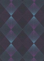 Erismann Instawalls 2, 10085-08 Geometrikus grafikus 3D kék lila fekete tapéta