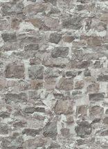Erismann Instawalls 2, 10092-02 Ipari design természetes kőfal minta bézs barna szürke tapéta