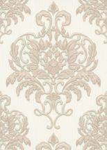 Erismann Spotlight 10102-14 Klasszikus fenséges barokk díszítőminta krém bézs tapéta