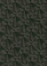 Erismann Spotlight 10106-15 Geometrikus Grafikus Expresszív háromszögek mintája 3D antracitszürke fekete tapéta
