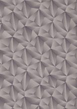 Erismann Spotlight 10106-34 Geometrikus Grafikus Expresszív háromszögek mintája 3D szürke lilás szürke ezüst tapéta