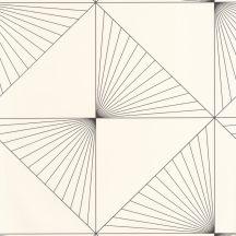 Moonlight 101069006 Geometrikus négyzetek-háromszögek vonalkázással fehér fekete tapéta