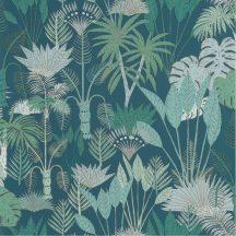 L ODYSSEE 101416119  PHILIPPINES Natur dzsungel zöld aranybarna csillogó fémes fény tapéta