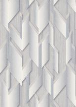 Erismann Fashion for Walls 2 by GMK 10145-31 Design Ipari formatervezés 3D szálcsiszolt nemes fényű felület szürke/acélszürke fehérezüst tapéta