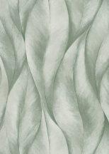 Erismann Fashion for Walls 2 by GMK 10148-07 Natur Design nagyformátumú stilizált levelek zöld fehér csillogó hatás tapéta