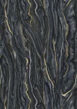 Erismann ELLE Decoration 10149-15 Natur karakteres márványminta fekete arany tapéta