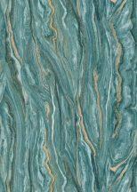Erismann ELLE Decoration 10149-36 Natur karakteres márványminta zöld kék arany tapéta