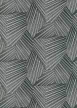 Erismann ELLE Decoration 10152-47 Geometrikus grafikus 3D minta szürke antracit ezüst csillogó mintarészletek tapéta