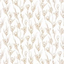 Caselio The Place to Be(d) 101781029 DAY DREAMING Natur Álmodozás virágok között fehér arany tapéta