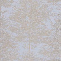 Caselio The Place to Be(d) 101806020 COSY NEST Natur fák mintázata - hangulatos fészek kékes szürke arany tapéta