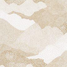 Caselio The Place to Be(d) 101811027 MISTER SANDMAN Natur magas hegyek/tenger hullámai krémfehér arany tapéta
