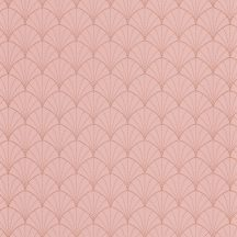 """Caselio The Place to Be(d) 101824020  STARDUST Art-deco retro """"csillagpor"""" barack/ó-rózsaszín/lazacszín rézszín tapéta"""