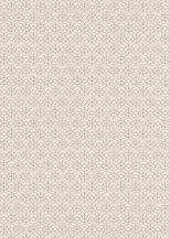 Erismann Code Nature 10211-38 Grafikus díszítőminta apró elemek láncolata világosbarna szürkésbarna tapéta