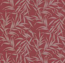 P+S Lacantara 13703-40 levélmintázat vörös/piros arany tapéta