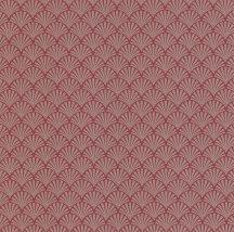 P+S Lacantara 13707-20 grafikus díszítőminta vörös/piros arany tapéta