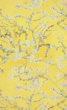 BN Van Gogh 2, 17143  Natur virágos mandulavirágzás sárga rózsaszín bézs zöld tapéta
