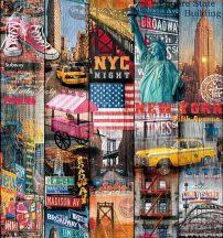 Dc-fix 200-3234 Manhattan Design Dekor szines öntapadó fólia