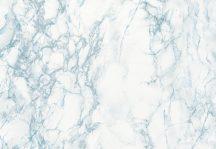 Dc-fix 200-8114 Cortes Blue márvány mintázatú fehér kék szürke öntapadó fólia