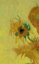 BN Van Gogh 2, 200329 Natur virágos festett  Napraforgók sárga szines falpanel