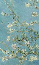 BN Van Gogh 2, 200330 Natur virágos festett Mandulavirágzás kék szines falpanel