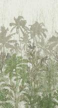 BN Panthera 200349 natur trópusi dzsungel törtfehér zöld szürke falpanel