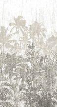 BN Panthera 200350 natur trópusi dzsungel törtfehér bézs szürke falpanel