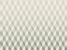 BN Cubiq 200417 FADING CUBE Geometrikus 3D térbeli kockák halmaza krém bézs nyersszín szürke sötétszürke függőleges színátmenet falpanel