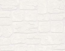 As-Creation Dekora Natur 6, 2040-42  Natur kőmintás fehér tapéta